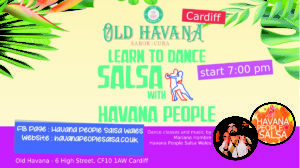 [Class] Cuban Salsa and Social with Mariano @ Old Havana | Wales | United Kingdom