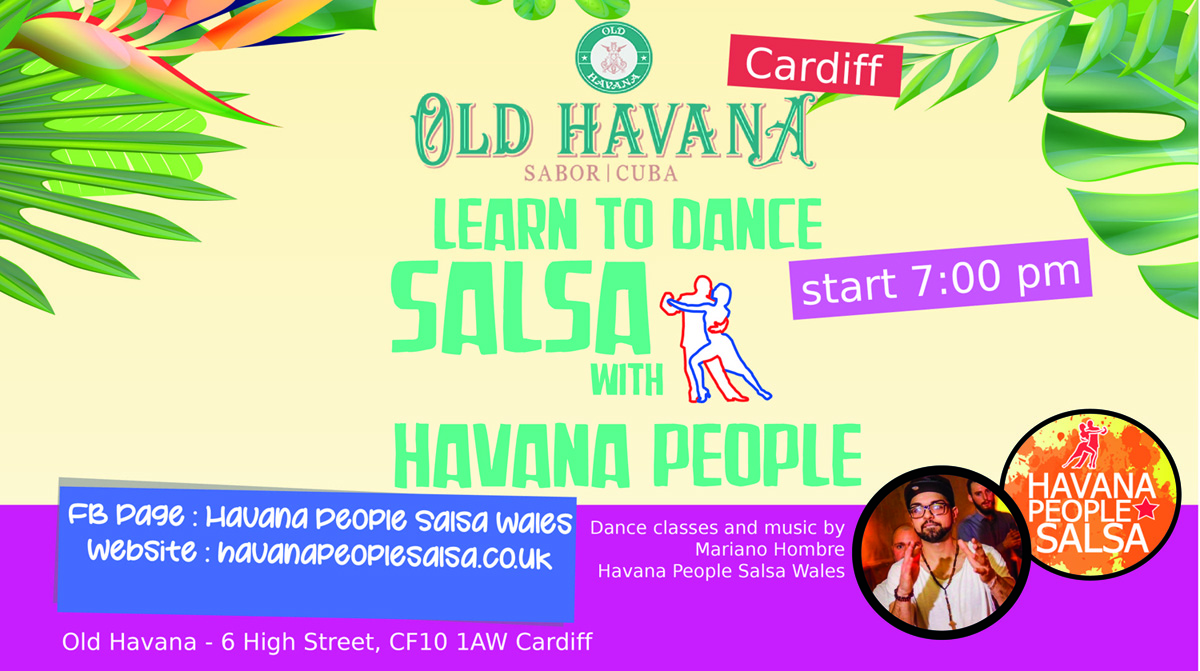 [Class] Cuban Salsa and Social with Mariano