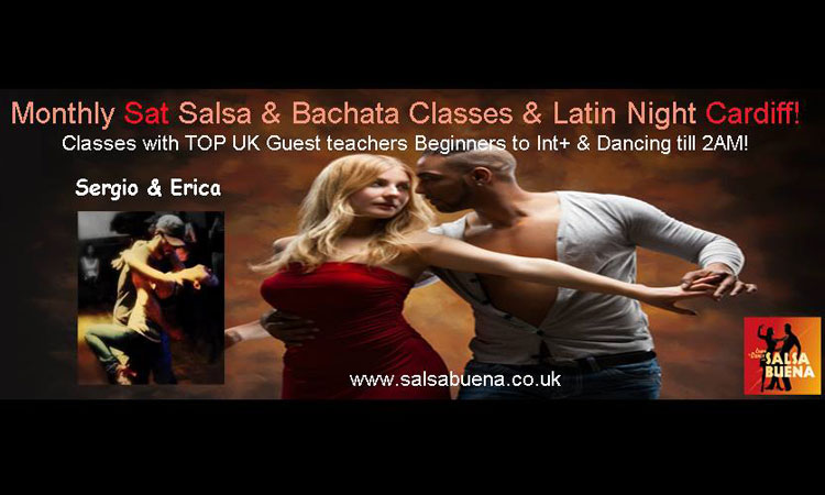 [Event] Monthly Latin Party with top guest Teachers!