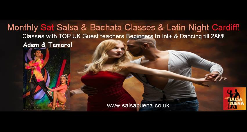 [Event] Monthly Latin Party - with Adem & Tamara