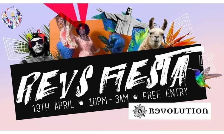 [Event] Revolucion Fiesta - Latin social
