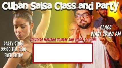 [Class] Cuban Salsa with Giada and Mariano