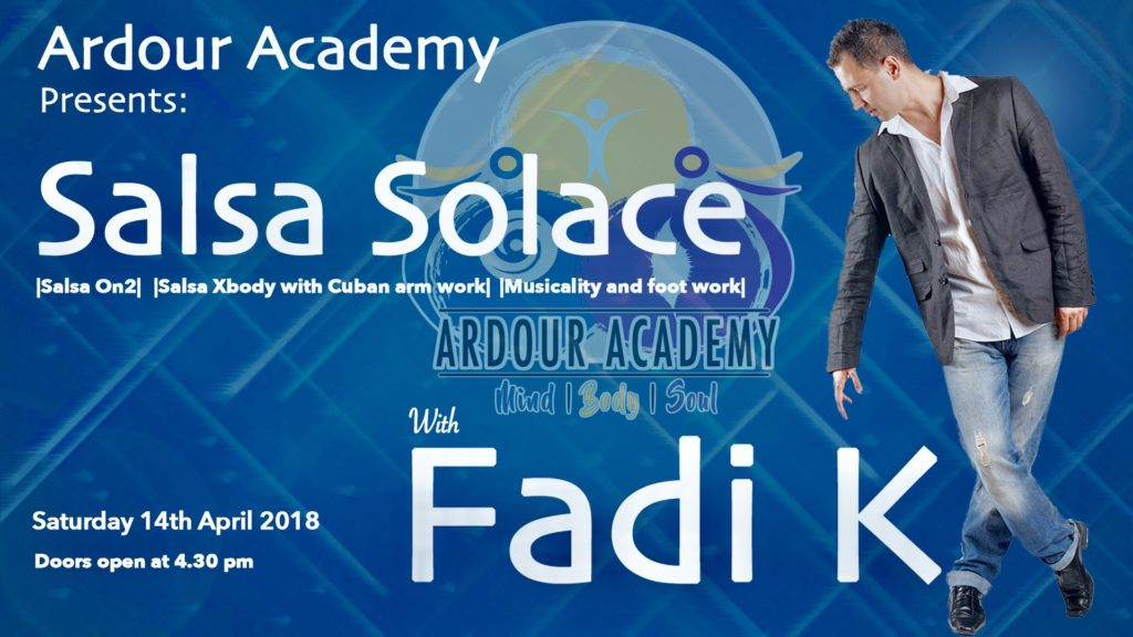 [Event] Salsa Solace with Fadi K