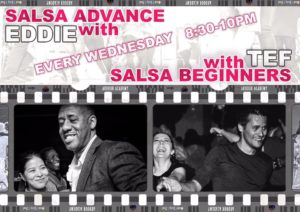 [Class] Salsa with Eddie and Tef @ Ardour Academy | Wales | United Kingdom