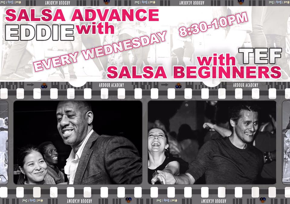 [Class] Salsa with Eddie and Tef