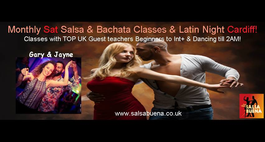[Event] Monthly Latin Party - with Gary and Jayne
