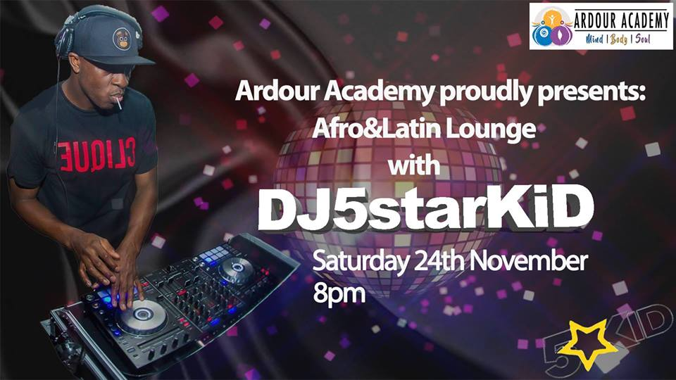 [Event] Afro and Latin Lounge with DJ5StarKid