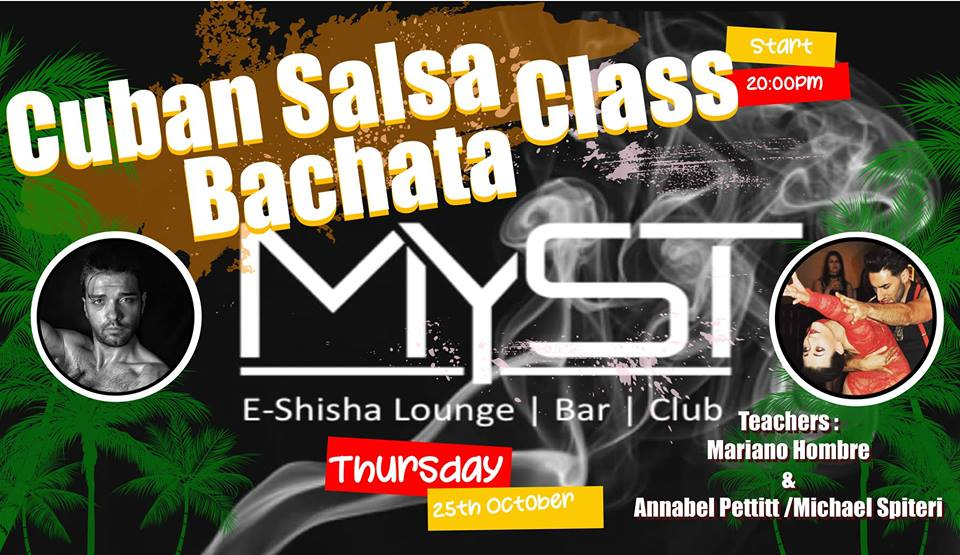 [Class] Monthly Cuban Salsa and Bachata Night