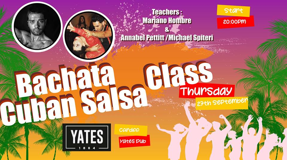 [Class] Cuban Salsa and Bachata