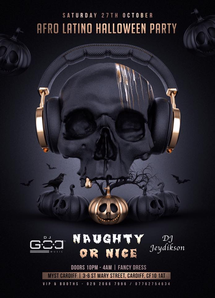 [Event] Special Afro Latino Halloween party