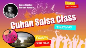 [Class] Cuban Salsa with Mariano @ Radyr Golf Club | Radyr | Wales | United Kingdom