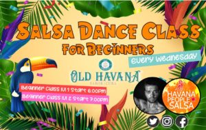 [Class] Wednesday Cuban Salsa with Mariano @ Old Havana | Wales | United Kingdom