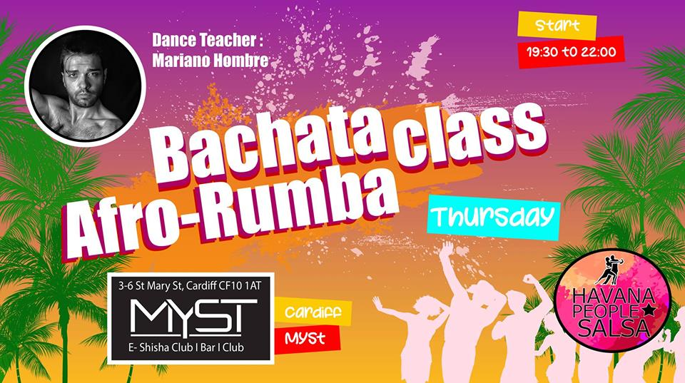 [Class] Bachata Class and Rumba Workshop