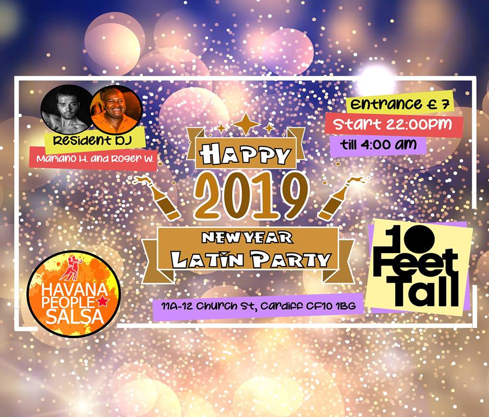 [Class] New Year Eve Latin Party